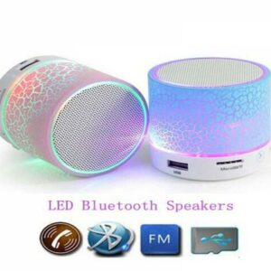 bluetooth mini speaker with led